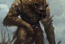 Beastmen -- Gnoll