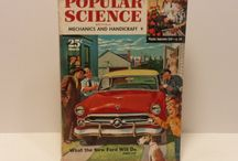 Popular Science Magazine, 1940-1960