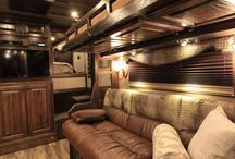 Trailer of the week / Outlaw Conversions custom living quarters, horse trailer premier interiors. outlawconversions.com