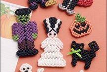 Plastic canvas crafts