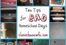 10 days of Homeschooling