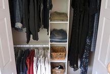 Garderoba / Jak zagospodarować sypialnię