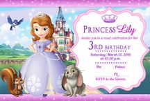 Sofia the First 3rd Birthday Party
