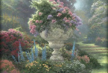pictures & art work - thomas kinkade art works / by Beverley Gillanders