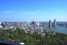 Rotterdam / Bruisende havenstad met een steeds groeiende skyline.