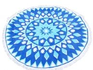 Fashion Beach Towel / Bohemian Round Beach Towel is suitable as table cloth and for picnic,yoga and beach time. Perfect to use it as a beach shawl or beach cover ups if you like .Now 23% Off.