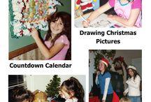 Christmas Ideas / Family activities for Christmas