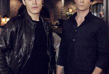 The Vampire Diaries Salvatore Brothers