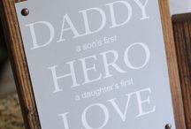 Father's Day / Crafts presents and ideas for Father's Day