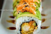 sushi recetas