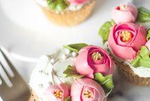kue topping bunga
