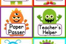 Monster classroom