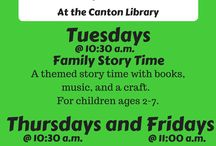 Upcoming Events! / Check out what is happening at your library!
