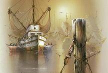 Żaglowce, statki