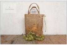 Bolsas para frutas y frutos secos / Bolsas para comercios y proveedores de productos del campo