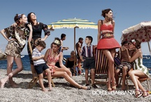 Favourite Fashion Campaigns / Inspiration board - from luxury brands to popular high street labels