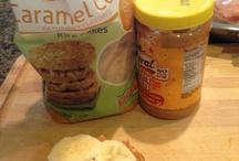healthy snacks / by Christa Reynoso