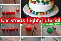 christmascake decoration