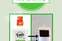 Plastic bottle upcycle