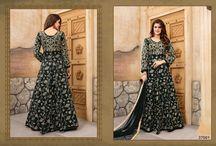 2651 Aanaya 37000 Bridal tafeta silk salwar kameez