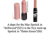* Make Up Dupes *