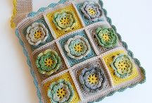 Crochet - baskets, bags and rugs