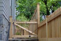 Custom Wood Fencing