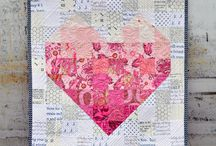 Pink mini quilt ideas