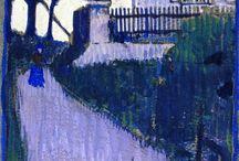 Schiele landscapes