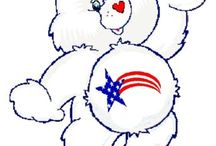 Care Bear   America Cares Bear