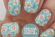 Nail Art / Nail art ideas - some easy, some not so easy!