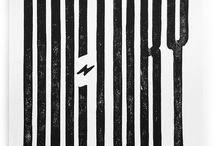 Typography Black & White