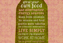 ♥ Urban Homesteading ♥ / by Nicola Moore