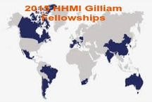 2015 HHMI Gilliam Fellowships & Other Top Scholarships / 2015 HHMI Gilliam Fellowships for Advanced Study in USA , and applications are submitted till November 20, 2014. Howard Hughes Medical Institute is inviting applications for Gilliam research fellowships to support up to three years of their dissertation research, typically in years three, four and five of their PhD studies