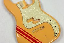 Racing Stripes / Aged guitar finishes and designs