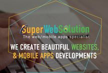 "We Create Beautiful Websites & Mobile Apps developments! / GROW YOUR BUSINESS WITH US - We're software and design firm, We develop innovative and even transformational applications for our clients - work that delights and occasionally inspires exclamations of ""that's like something out of science fiction!"" (We're always glad to hear stuff like that.)"