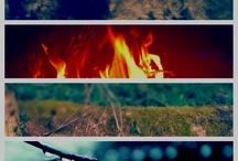 Aarde water lucht vuur