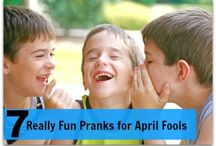 April Fools Day & Pranks / Hahahahahahaha. *insert evil grin here* / by Annie Griswold