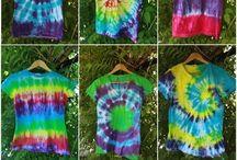 Batikfärgning / Färga i batik