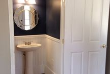 Bathroom - Dark Blue