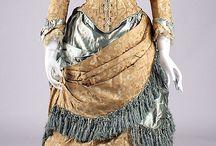 1880's Dress ideas / Period costume, 1880's dress / by Bri