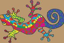 The imaginiation box / Form og farge