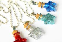 Magic necklaces / hand made