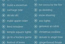 Список того, что нужно успеть сделать зимой