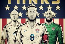 USMNT/USWNT / by Justin Gibson
