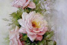 růže s kopretinami