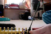 Loom knitting / by Wendy Robinson