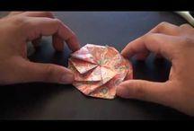Origami and Folded Fabric