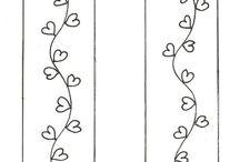 Záložky do kníh - Bookmarks