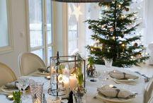 jul bord/dekorasjon